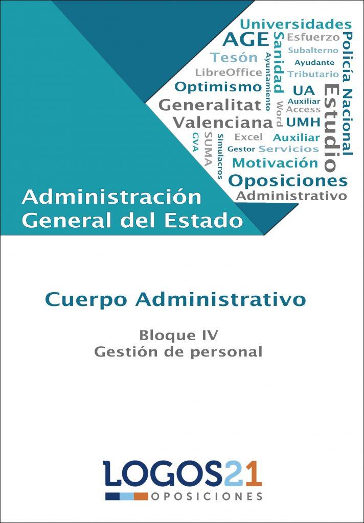 Portada libro Oposiciones AGE Bloque IV