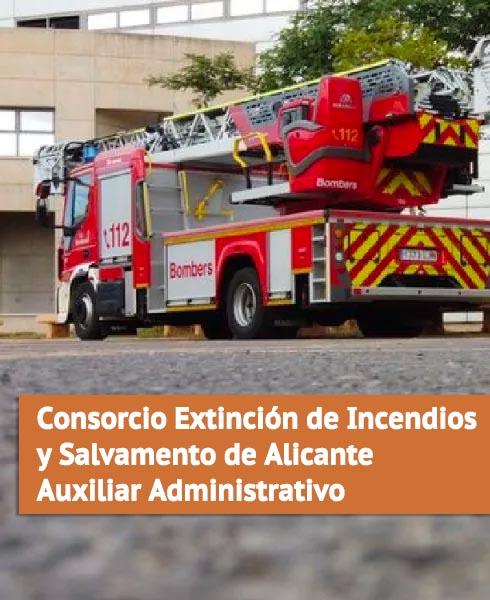 Oposiciones Consorcio Extinción de Incendios y Salvamento de Alicante