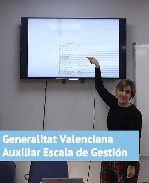Oposición Generalitat Valenciana