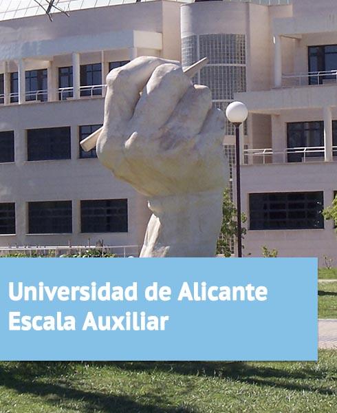 Oposiciones Universidad de Alicante