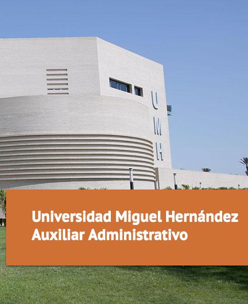 Oposiciones Universidad Miguel Hernández